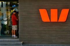 Banca di Westpac Fotografie Stock Libere da Diritti
