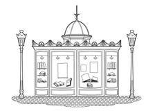 Banca do desenho Fotografia de Stock