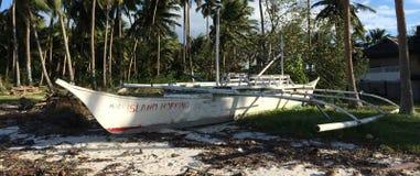 Banca fartyg på den Panglao ön Royaltyfria Bilder
