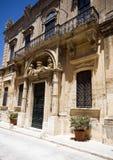 Banca guiratale mdina malta stock photography