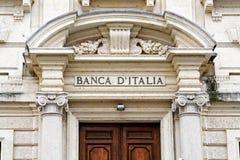 Free Banca Italia Entrance In Mantua Stock Photos - 97104293