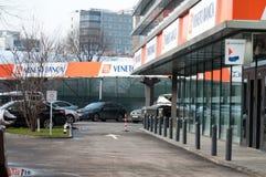 Banca Italo Romena Fotografia Stock Libera da Diritti