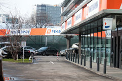 Banca Italo Romena Royalty Free Stock Photography