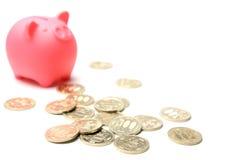 Banca Piggy Immagine Stock Libera da Diritti