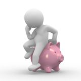 Banca Piggy royalty illustrazione gratis