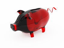 Banca Piggy Fotografia Stock