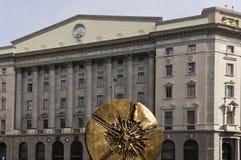Banca Popolare-het hoofdkwartier van Di Milaan Stock Foto's