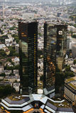Banca tedesca Fotografie Stock Libere da Diritti
