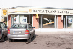 Banca transilvania branch Stock Images