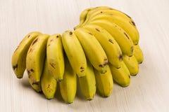 A banch of gold bananas Royalty Free Stock Photos