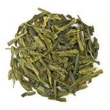Bancha Bio tea. Bancha Bio raw tea isolated on pure white Stock Images