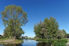 Banche del fiume Loira Fotografie Stock Libere da Diritti