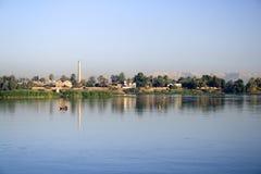 Banche del fiume Nilo Fotografia Stock