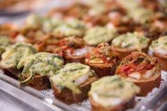 Banchetto dell'alimento Fotografie Stock