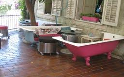Banchi del bagno Fotografia Stock