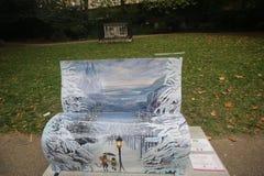 Banchi del libro di Londra Fotografia Stock Libera da Diritti