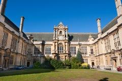 Banchi dell'esame. Oxford, Inghilterra immagini stock
