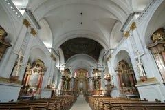 Banchi di chiesa della st Martin Fotografia Stock Libera da Diritti