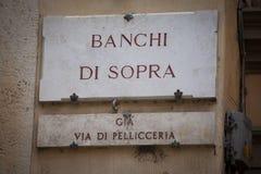 Banchi di Sopra i Siena Arkivfoton