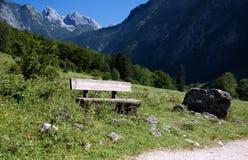 Banchi nelle alpi bavaresi Fotografia Stock Libera da Diritti