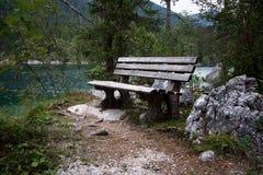 Banchi nelle alpi bavaresi Fotografie Stock
