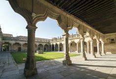 Banchi secondari della corte Salamanca Fotografia Stock Libera da Diritti