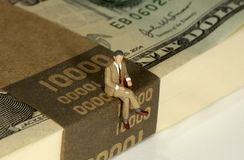 Banchiere Immagine Stock