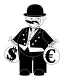 Banchiere royalty illustrazione gratis