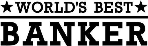 Banchiere Money del ` s del mondo migliore Fotografia Stock