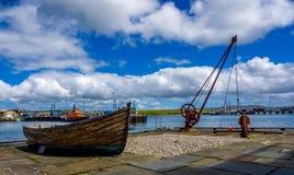 Banchina di Orkney Fotografie Stock