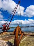 Banchina di Orkney Fotografia Stock Libera da Diritti