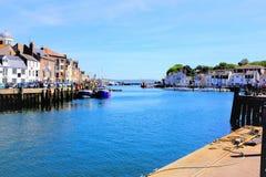 Banchine di Weymouth, Dorset immagine stock libera da diritti