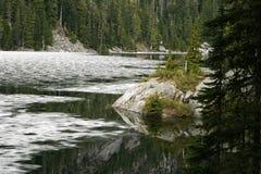 Banchisa galleggiante di ghiaccio della Dorothy del lago Fotografia Stock Libera da Diritti