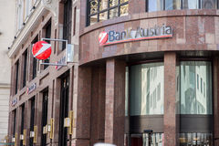 Banco Áustria Fotografia de Stock Royalty Free