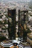 Banco alemán Fotos de archivo libres de regalías