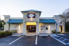 Banco centenario en la Florida, los E.E.U.U. Fotos de archivo libres de regalías