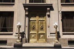 Banco Centraal DE Chili, Santiago Royalty-vrije Stock Foto's