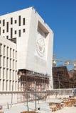 Banco central do canteiro de obras de Kuwait Foto de Stock