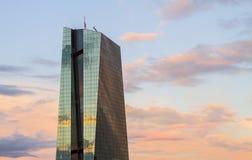 Banco Central Europeo imagenes de archivo