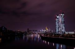 Banco Central Europeo Fotos de archivo libres de regalías