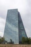 Banco Central Europeu novo em Francoforte Alemanha Fotografia de Stock Royalty Free