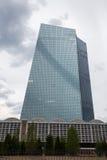 Banco Central Europeu novo em Francoforte Alemanha Foto de Stock Royalty Free