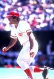Banco Cincinnati Reds del Johnny immagine stock