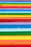 Banco colorato Fotografia Stock