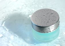 Banco com gel transparente Imagem de Stock