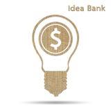 Banco da ideia Fotos de Stock Royalty Free