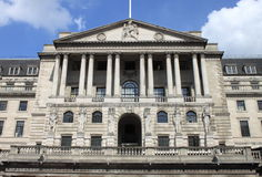 Banco da Inglaterra em Londres Foto de Stock Royalty Free