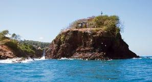 Banco de areia de Tapion - St Lucia Imagens de Stock