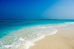 Banco de arena de Alidhoofaru, Maldivas Fotografía de archivo libre de regalías