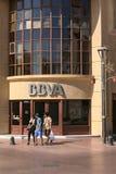 Banco de BBVA en el La Serena, Chile foto de archivo